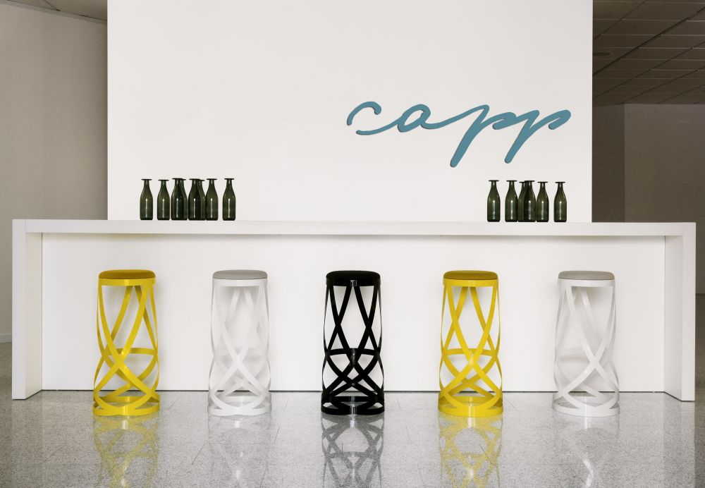 Wondrous Ribbon Low Stool From Cappellini Squirreltailoven Fun Painted Chair Ideas Images Squirreltailovenorg