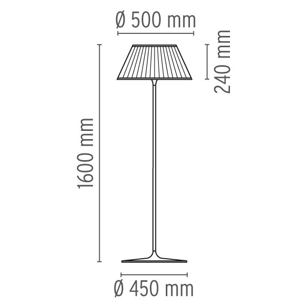 Romeo F Floor Lamp by Flos