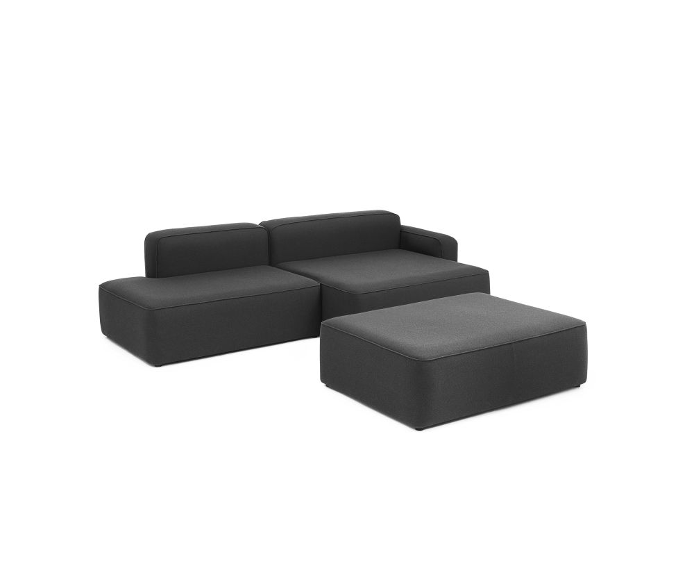 Rope Modular Sofa 700 Pouf Small by Normann Copenhagen