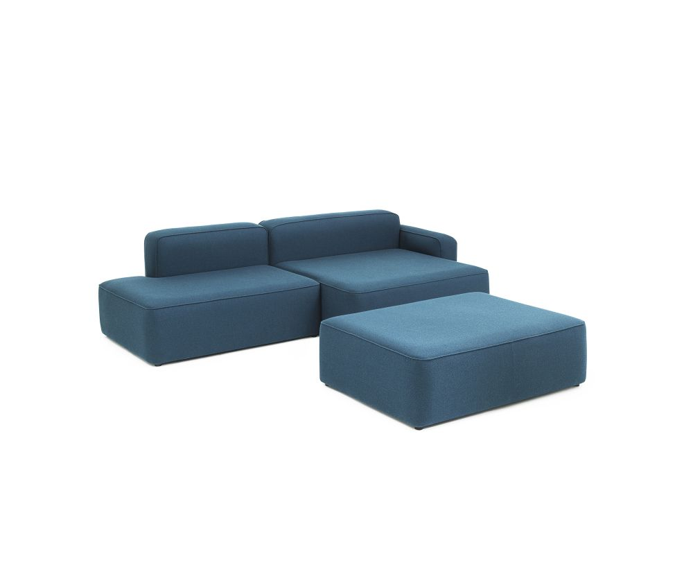 Rope Modular Sofa 710 Pouf Large by Normann Copenhagen