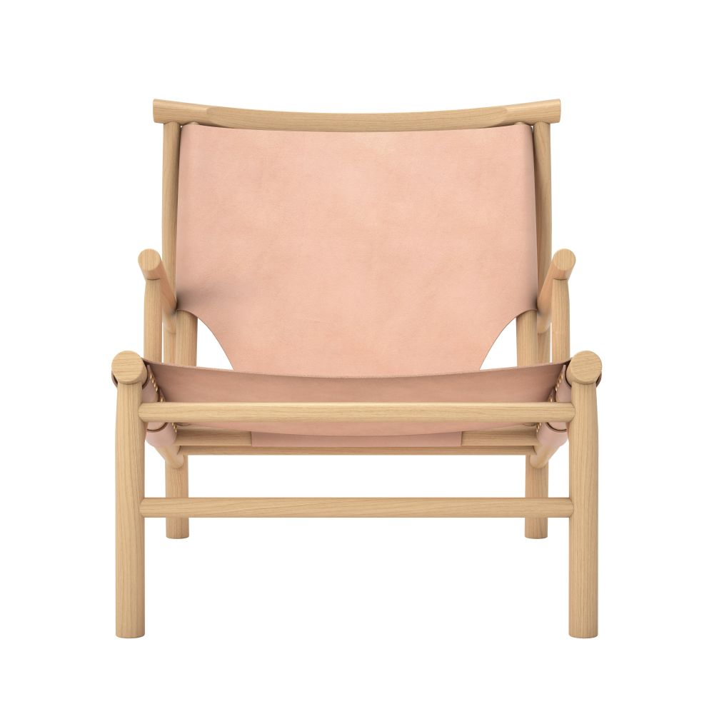 Saddle Leather Cognac,NORR11,Lounge Chairs