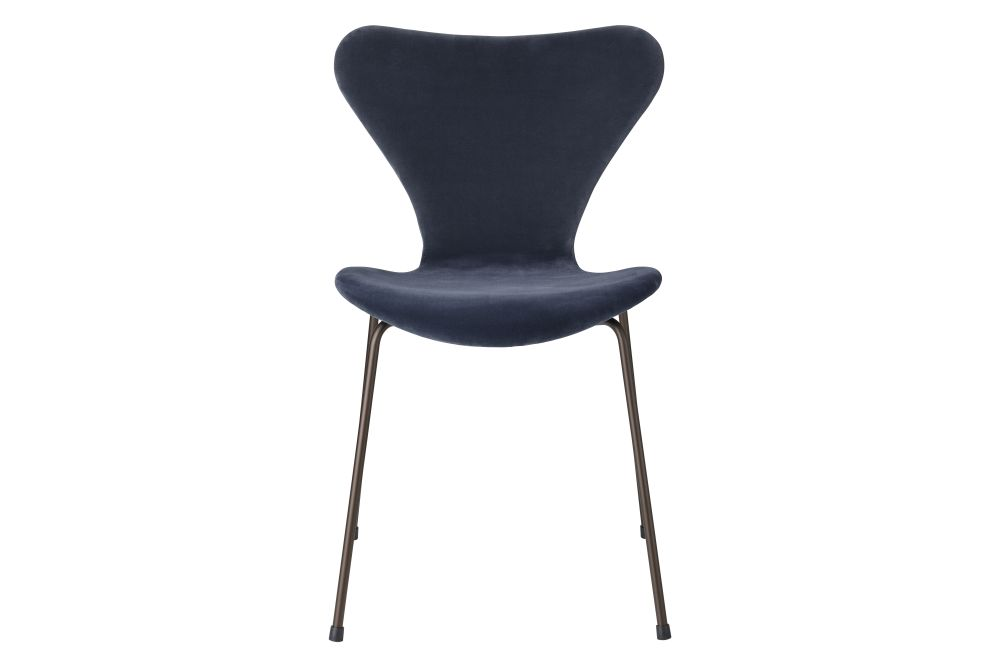 grey blue, low,Fritz Hansen,Dining Chairs