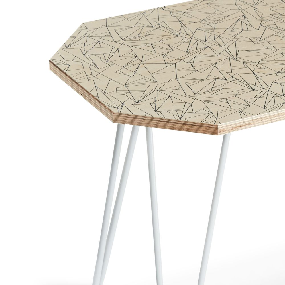 Side Table- Cracked Ice by Flock