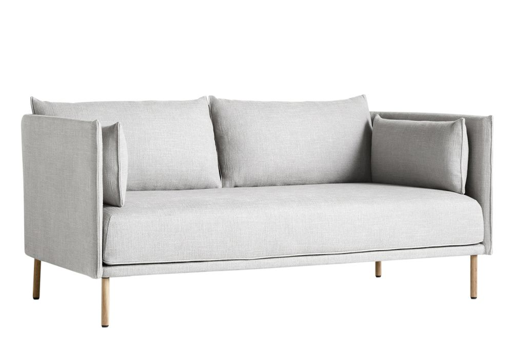 Silhouette 2 Seater Mono Sofa by Hay