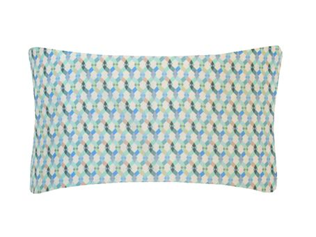 Small Braids Printed Cushion by Nitin Goyal London