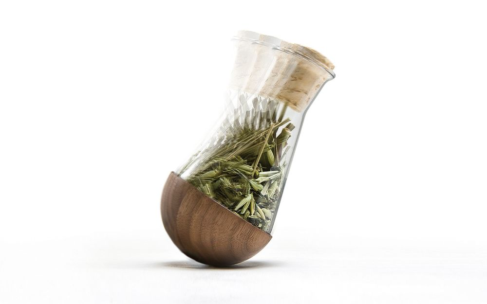 Stand-Up Herb Flasks - Set of 4 by Urbanature
