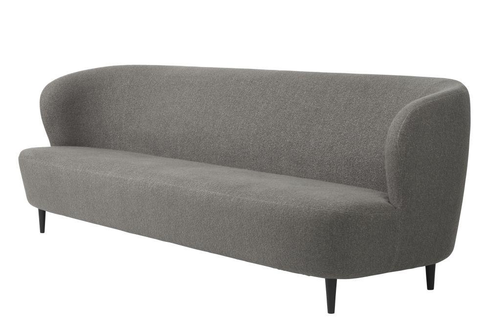 Stay Sofa 95, Wood Base by Gubi