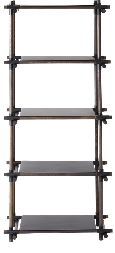 Stick System Shelving, 1x5 by MENU