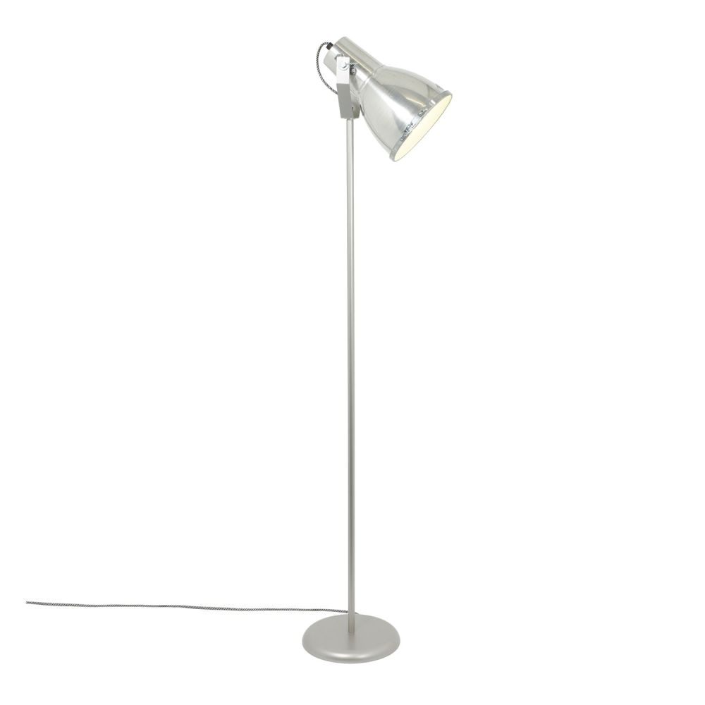 Stirrup  Floor Lamp with Sandblasted Glass by Original BTC