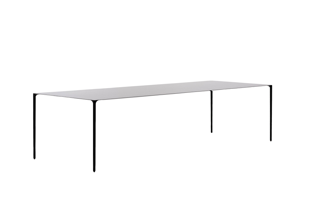 High Gloss Lacquer, L 240 cm,Established & Sons,Dining Tables