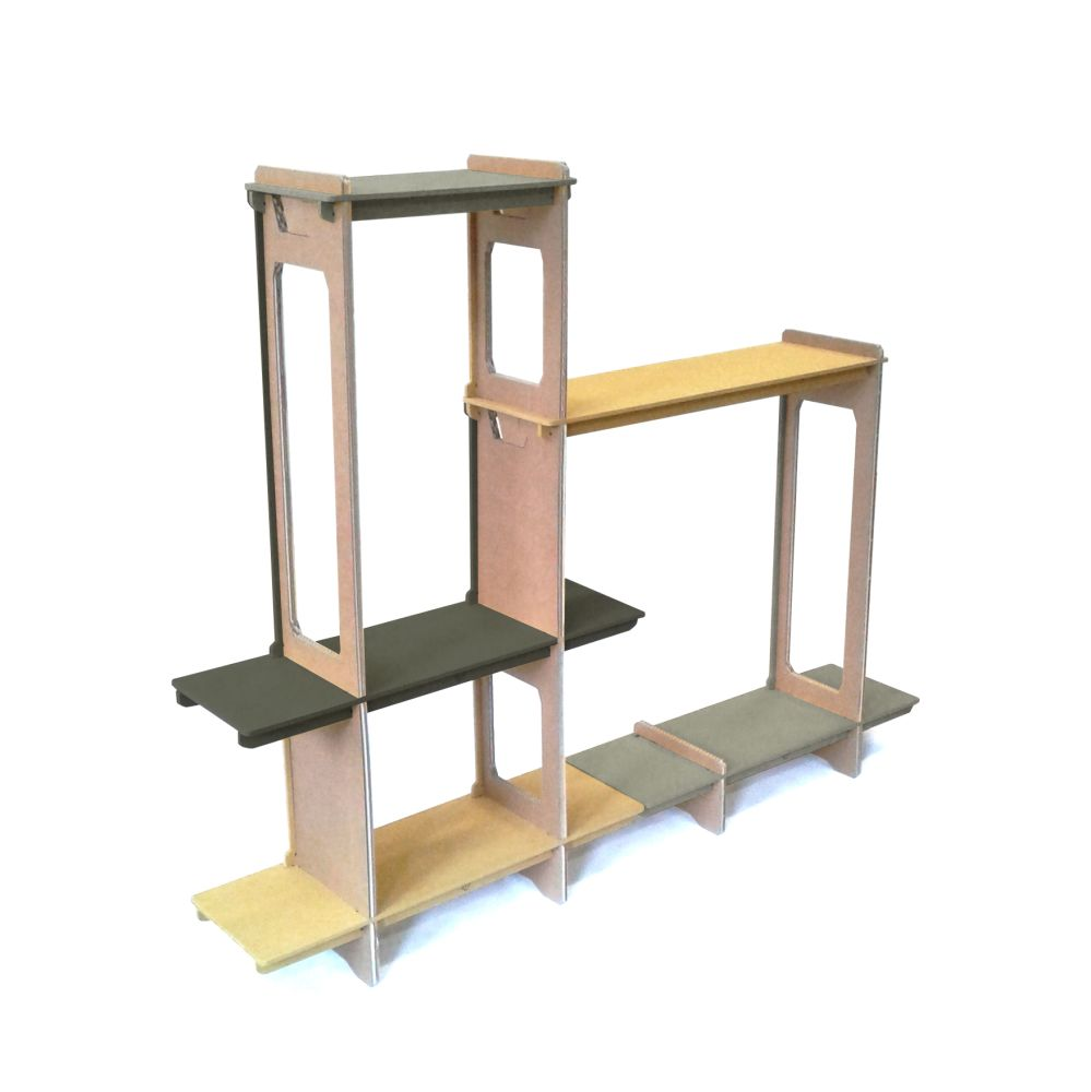 Tempo Shelving System by Wayfarer Furniture
