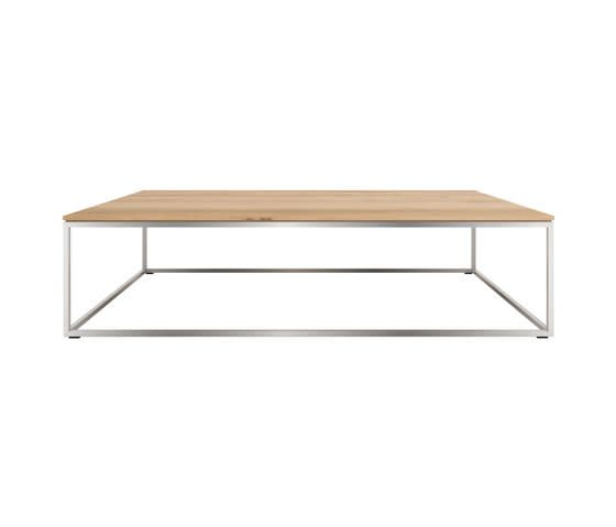 Thin Rectangular Coffee Table by Ethnicraft by Clearance