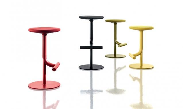 Tibu Swivel Barstool - Fabric Seat Cover by Magis Design