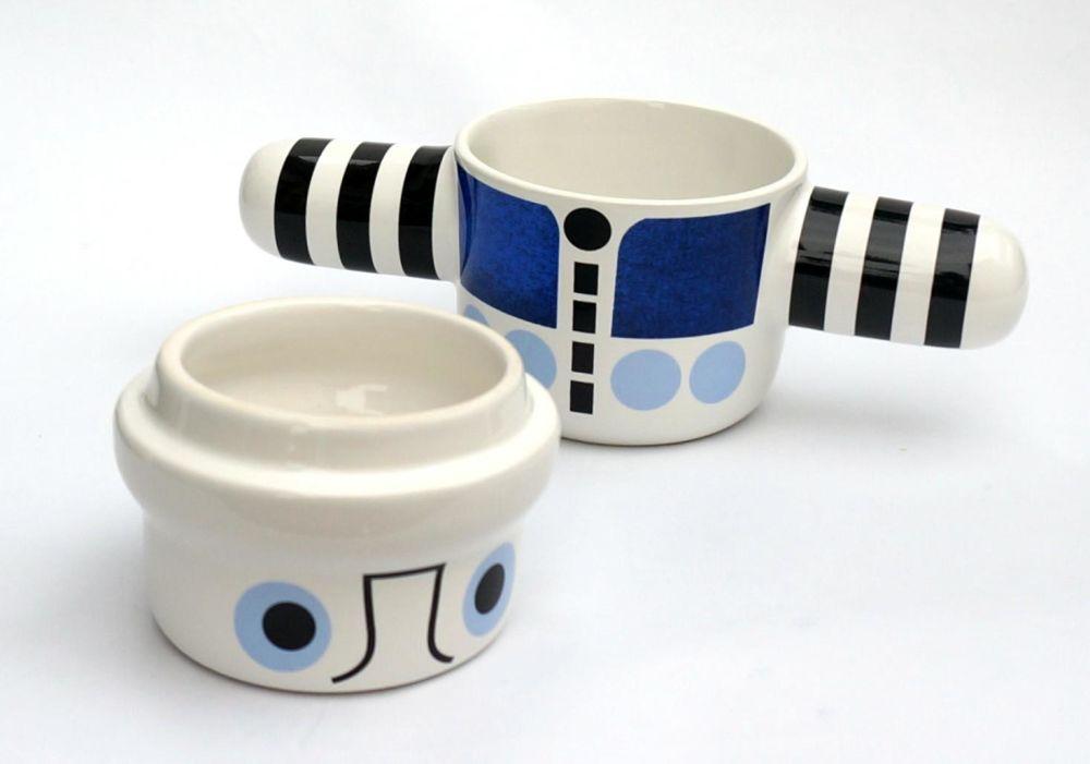 Grey,Camilla Engdahl,Teapots & Cups,ceramic,coffee cup,cup,drinkware,egg cup,mug,porcelain,serveware,tableware