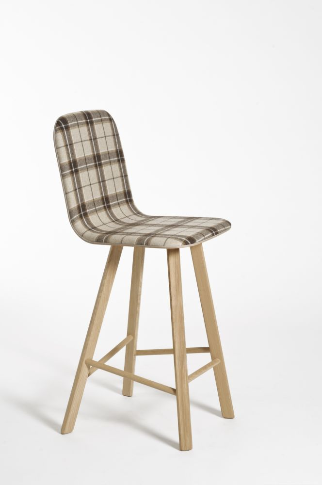 Tria High Backed Bar Stool by Colé Italian Design Label