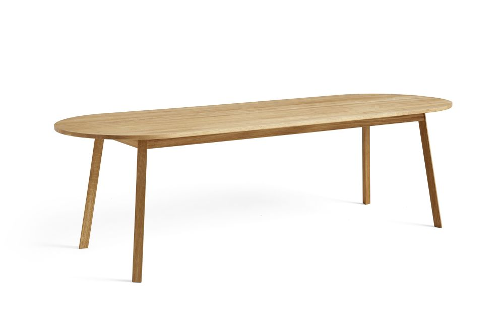 Triangle Leg Obround Dining Table by Hay