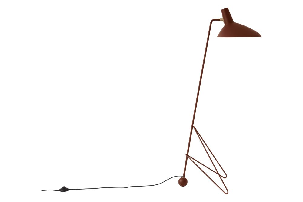 Metal Black,&Tradition,Floor Lamps