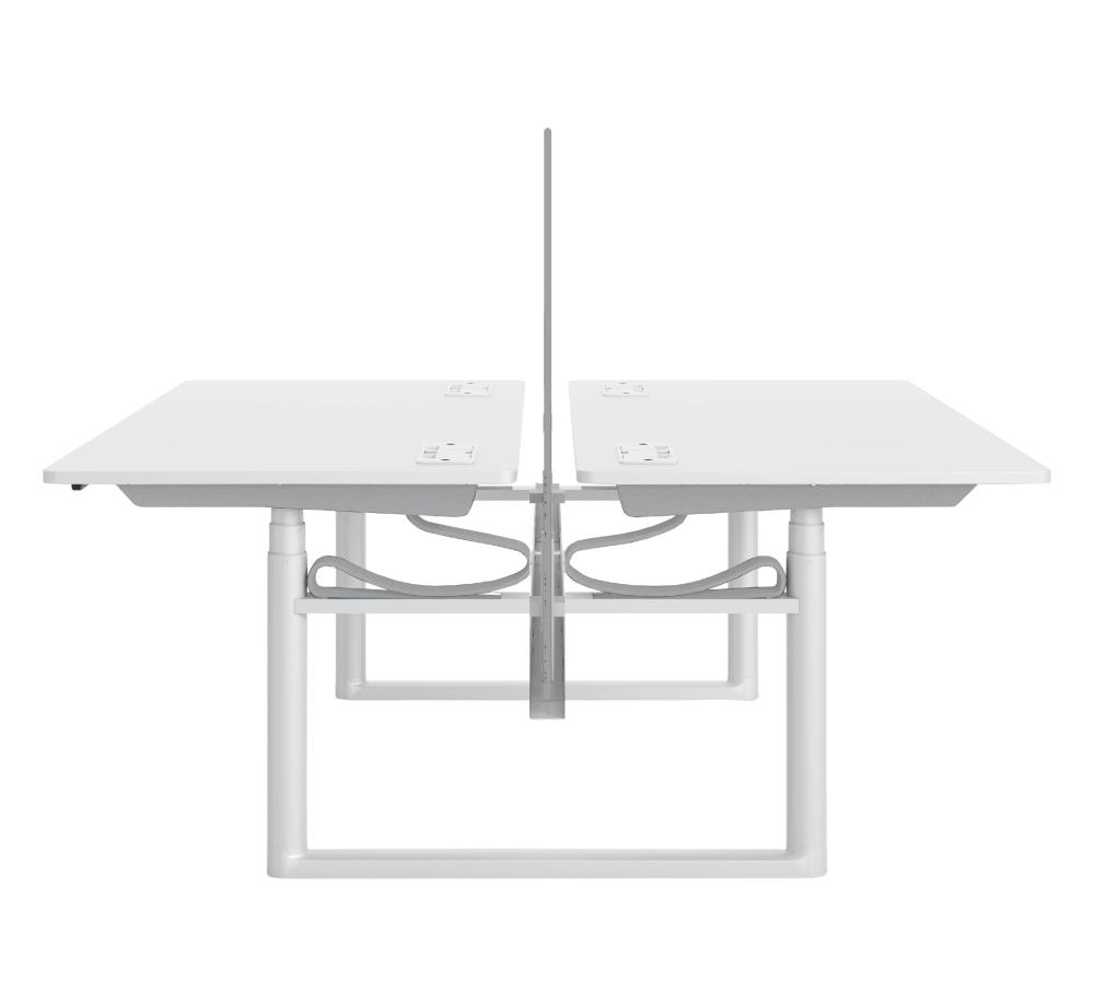 18 Sea Blue, x3 sockets per desk, No,Vitra,Office Tables & Desks
