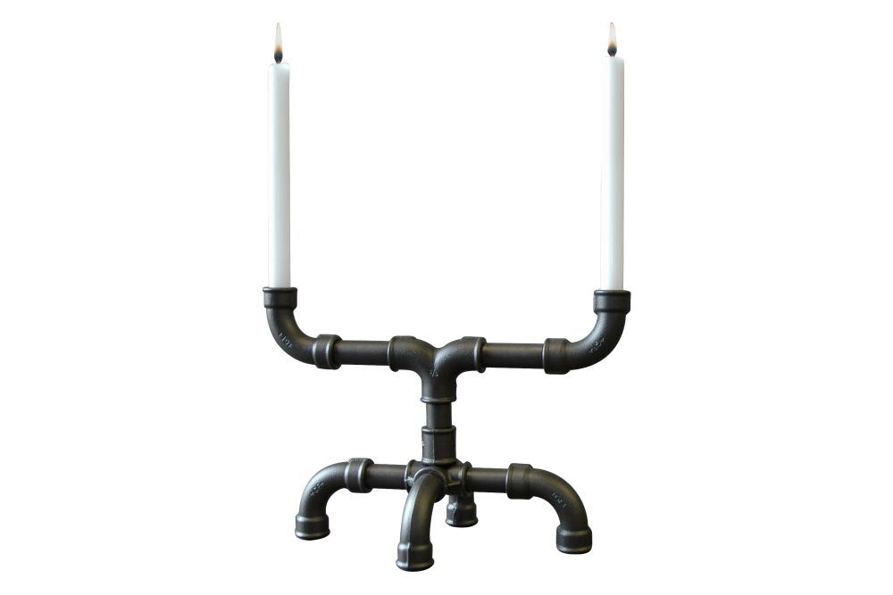 U-Tube Candle Holder by Sander Mulder