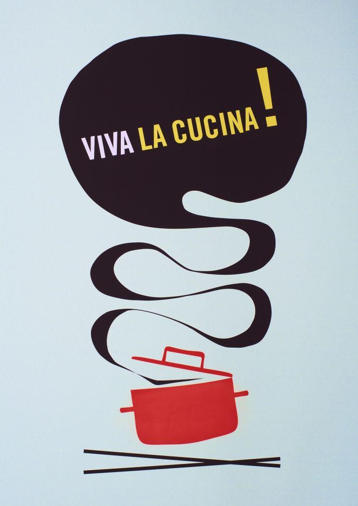 Viva la Cucina Litographic Print by Lane
