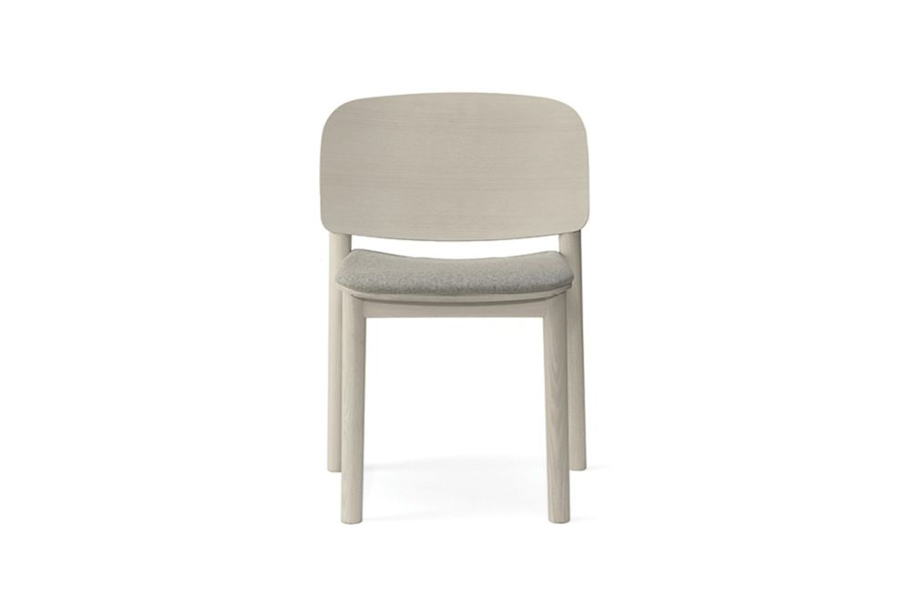 White 132 Dining Chair - Set of 2 by Billiani