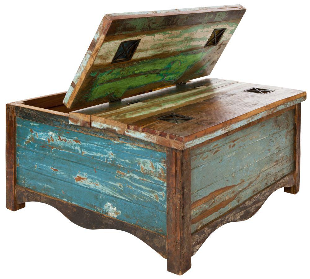Zanzibar Blanket Box / Coffee Table by Reason Season Time