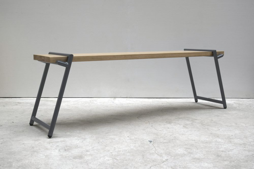 Signal Red,Psalt Design,Benches,desk,furniture,iron,table