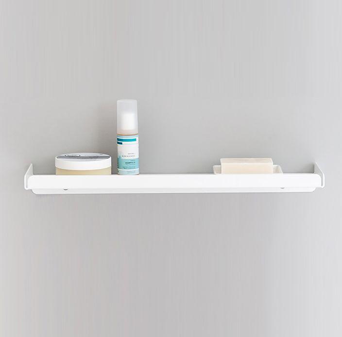 White,Anne Linde,Bookcases & Shelves,bathroom,bathroom accessory,furniture,shelf,shelving,wall