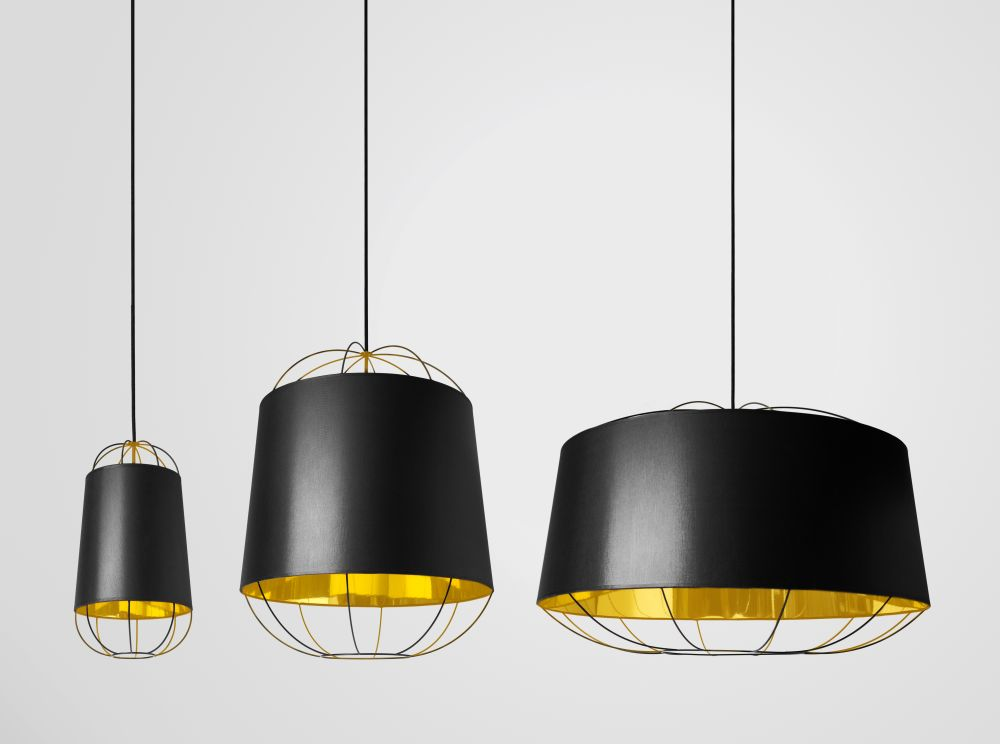 Black,Petite Friture,Pendant Lights,ceiling,ceiling fixture,chandelier,lamp,lampshade,light,light fixture,lighting,lighting accessory,yellow