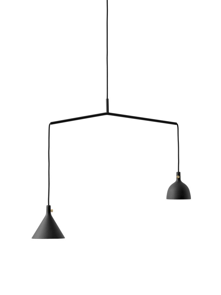 Cast Shape 4 Pendant Light by Menu
