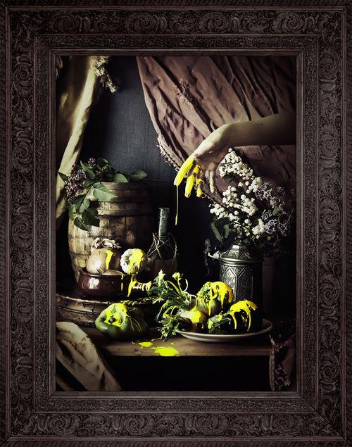 'Strange Fruit' Canvas by Mineheart