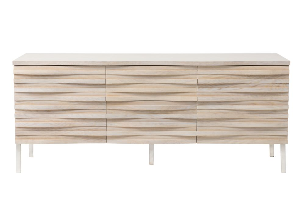 Wave Sideboard Limed oak by Content by Terence Conran