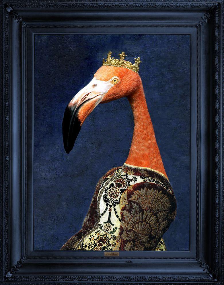'Princess Flaminia' Canvas by Mineheart