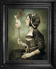 'Mirror Mirror...' Canvas by Mineheart