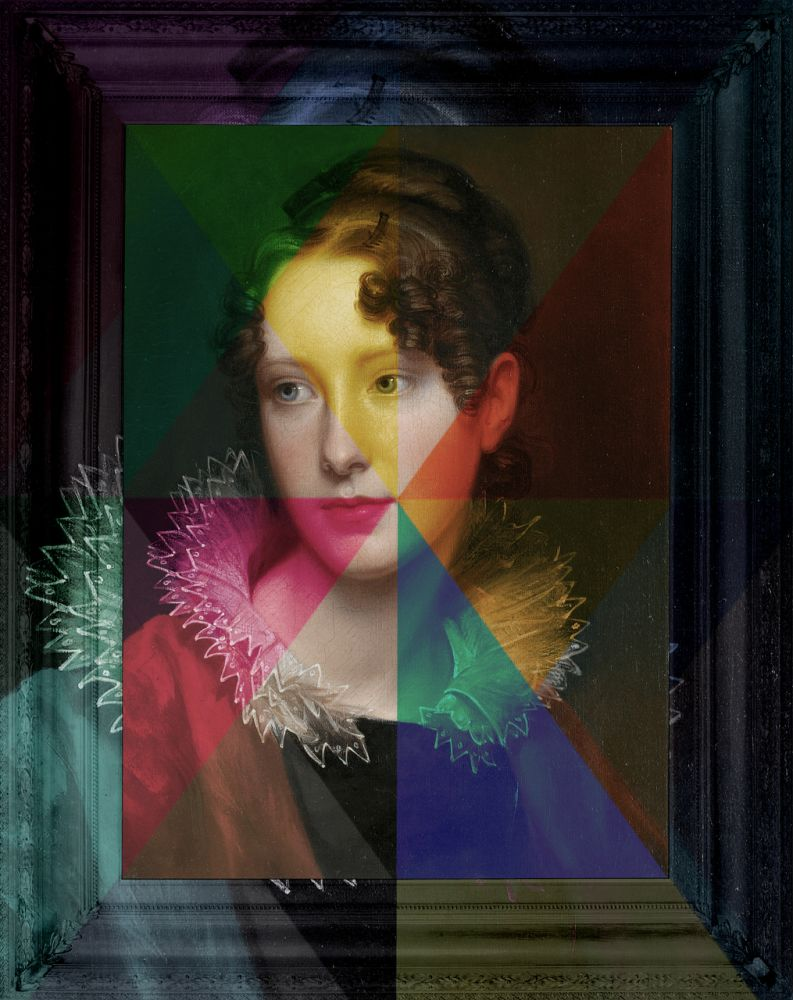 'Rays of Spring' Canvas,Mineheart,Prints & Artwork,art,painting,portrait