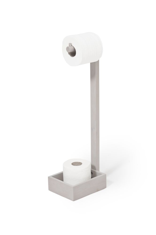 Freestanding Roll Holder Mezza by Wireworks