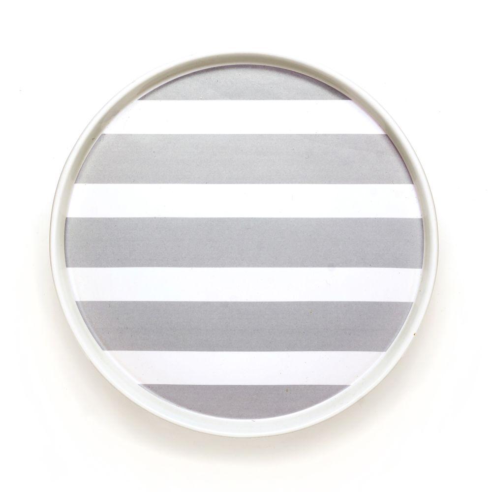 DIDO plate - stripes by Camilla Engdahl