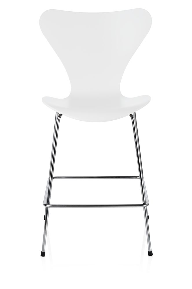 Coloured Ash White 105,Fritz Hansen,Stools,chair,furniture