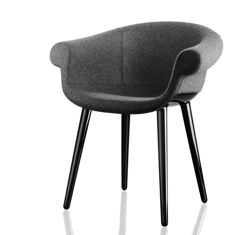 Magis Leather Nero Black 795, Black Frame,Magis Design,Armchairs,chair,furniture