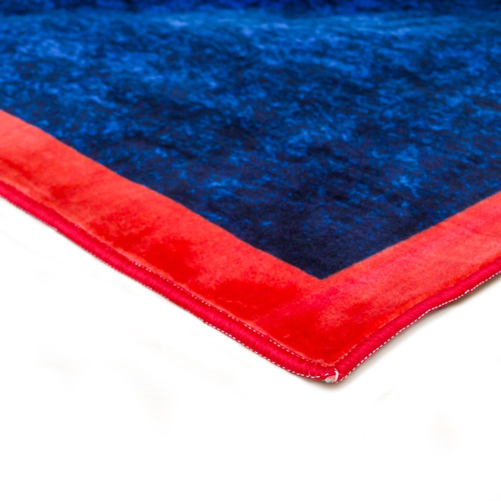Seletti,Doormats,blue,electric blue,red,textile,turquoise