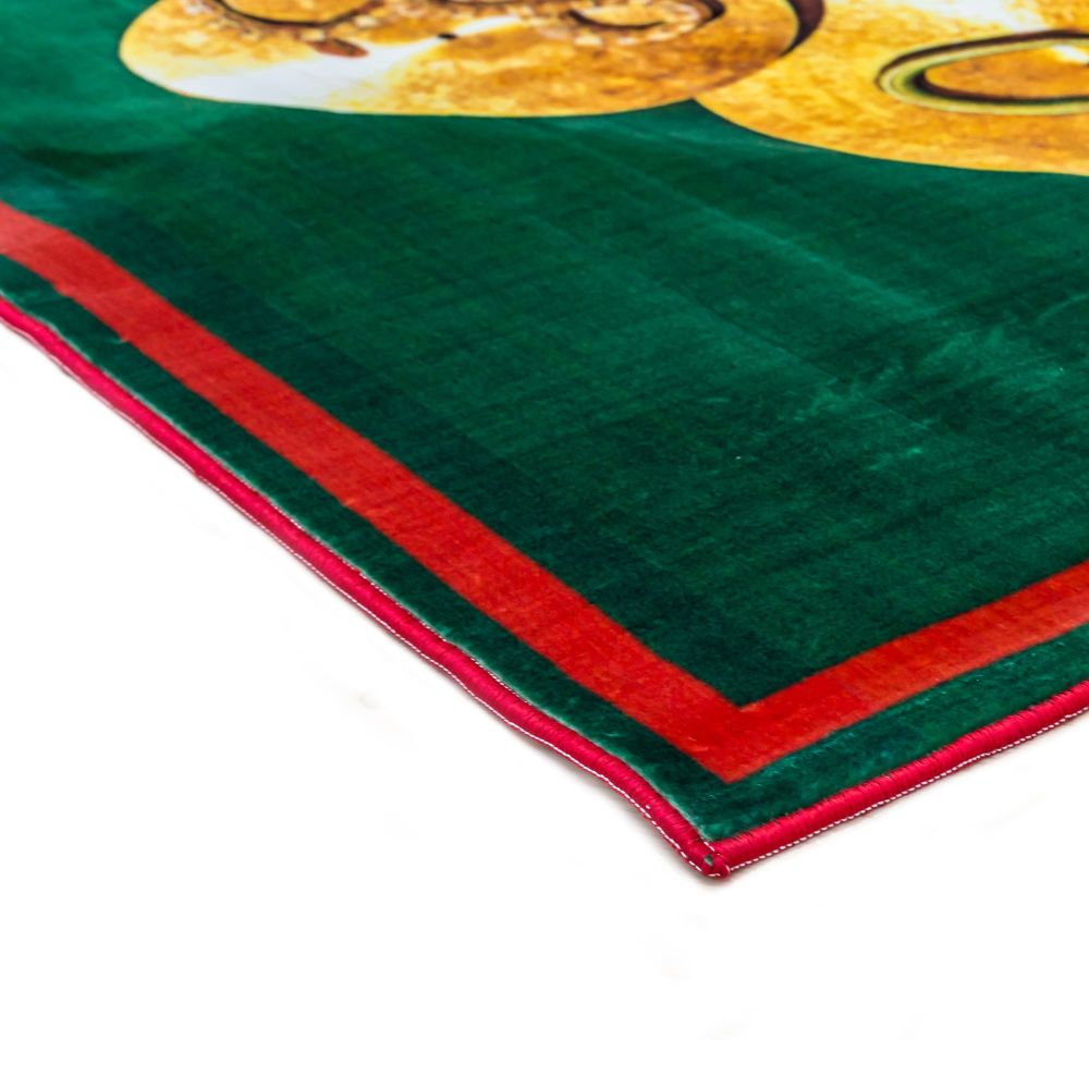 Seletti,Doormats,green,linens,red,table,tablecloth,textile