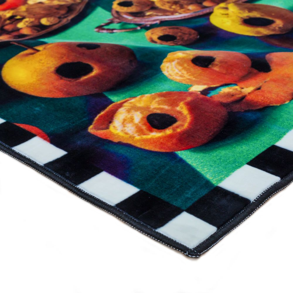 Seletti,Doormats,doughnut,orange