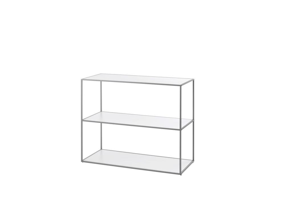 Black,by Lassen,Bookcases & Shelves,end table,furniture,line,rectangle,shelf,shelving,sofa tables,table