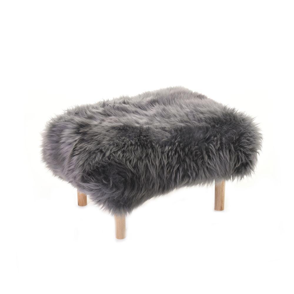 Bethan - Sheepskin Footstool by Baa Stool