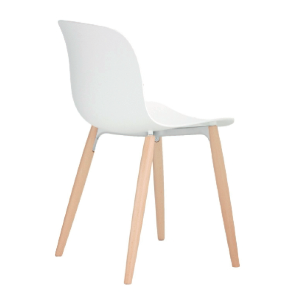 Troy chair, 4 Legs - Set of 2 by Magis Design