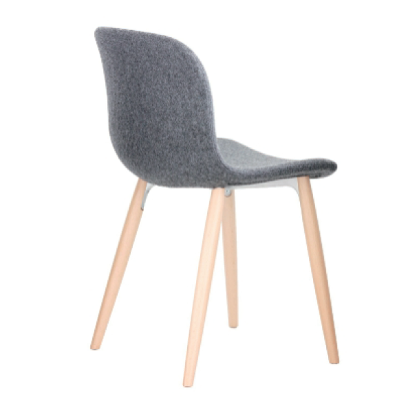 Troy Chair - 4 Legs, Fully Covered - Set of 2 by Magis Design