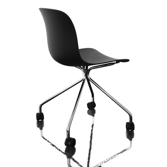 White Frame, Natural Beech Seat,Magis Design,Seating,chair,furniture