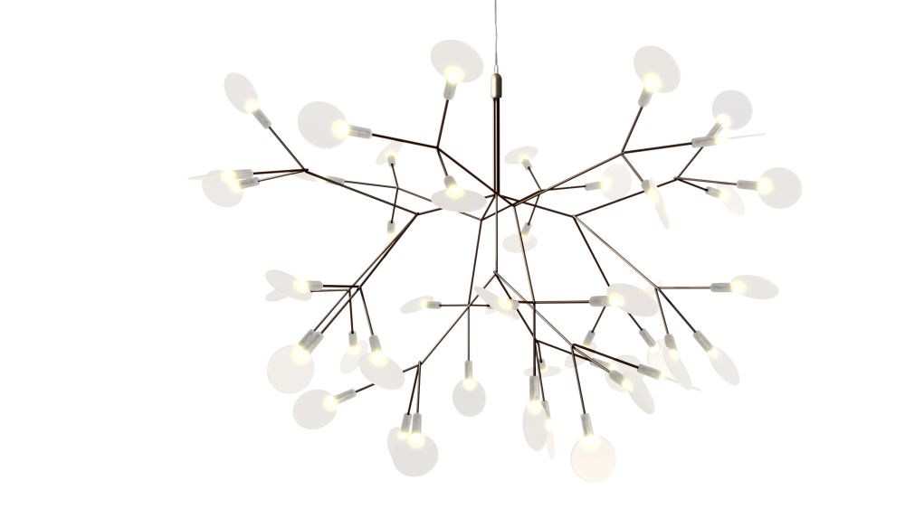 Copper, 4 m Cable Length,MOOOI,Pendant Lights,branch,leaf,light fixture,lighting,twig