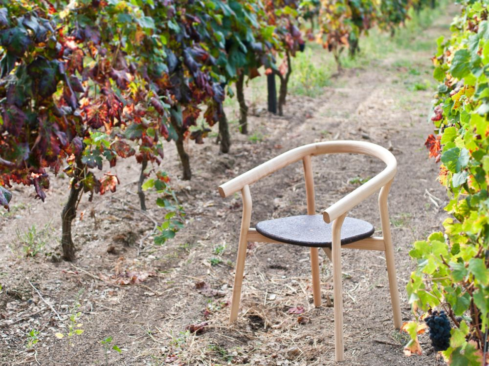Dora chair / Ash + Cork