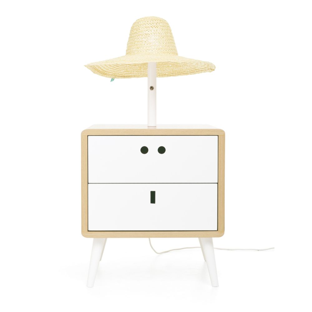 Dry yellow,Dam,Table Lamps,beige,changing table,drawer,furniture,nightstand,product,table,white